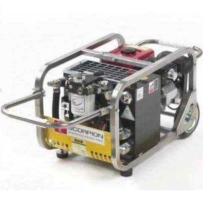 Scorpion - пересувна бензинова маслостанція для динамічного інструменту