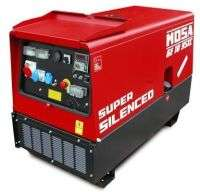 Купити електричний генератор з дизельним двигуном 7.6 кВт GE 10 YSXC від MOSAзі знижкою у Львові