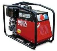 Купити портативний переносний генератор з дизельним двигуном 5 кВт GE 7500 KDES / GS від MOSAу Львові