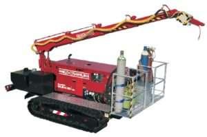 WELDCRAWLER це унікальна пересувна автономна установка на гусеничному ходу, призначена для проведення зварювальних, слюсарних, монтажних та інших робіт