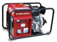 Купити дизельний генератор 5,1 кВт GE 6000 DES / GS l від MOSA- каталог Італійських генераторів