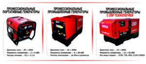 промислові зварювальні генератори від Моса