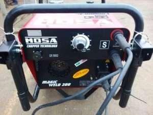 Купити зварювальний генератора 200А TS 200 BS CF від MOSA: