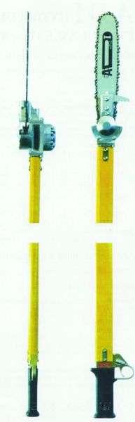 Купити гідравлічну ланцюгову пилу на жердині DOA ACS 80 для обрізки на деревах гілок зі знижкою